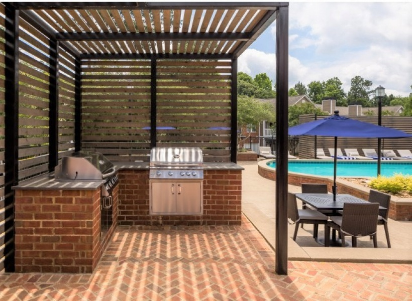 Retreat at Peachtree City Grilling Area