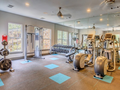 Summer Park Apartments fitness center