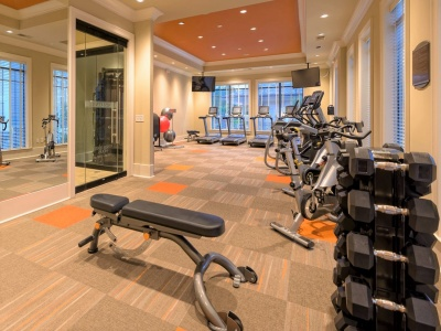 Heights at Meridian Apartments Fitness Center
