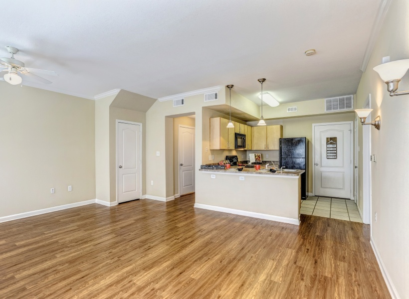 Cason Estates Apartments Wood-Inspired Plank Flooring