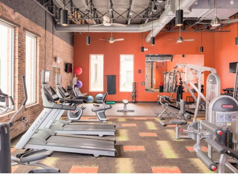 Melrose Apartments Fitness Center