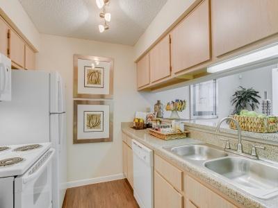 Regatta apartment kitchen
